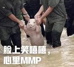 脸上笑嘻嘻,心里MMP